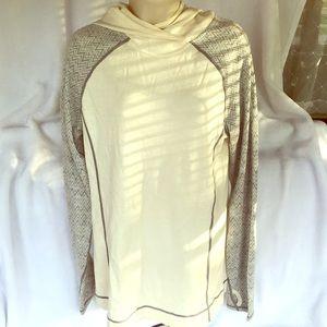 Eddie Bauer Tops - Long sleeve hooded light sweatshirt